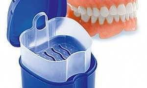 Четыре лучших вида контейнеров для хранения зубных протезов
