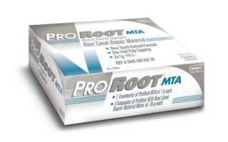 Уникальная система Proroot MTA для восстановления корневых каналов