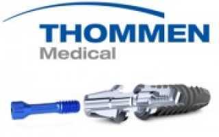 Концепция замещения утраченных зубов имплантами Thommen