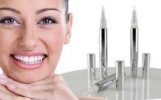 Карандаш для отбеливания зубов: отзывы, принцип действия, инструкция