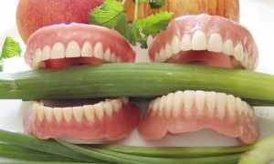 Грамотная организация питания с зубными протезами